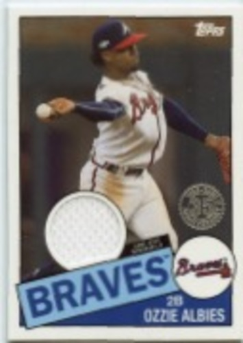 Photo of 2020 Topps '85 Topps Relics #85TROA Ozzie Albies