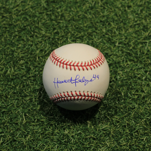 Photo of Autographed Baseball: Heath Fillmyer