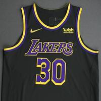 Damian Jones - Los Angeles Lakers- Game-Worn Earned Edition Jersey - 2020-21 NBA Season
