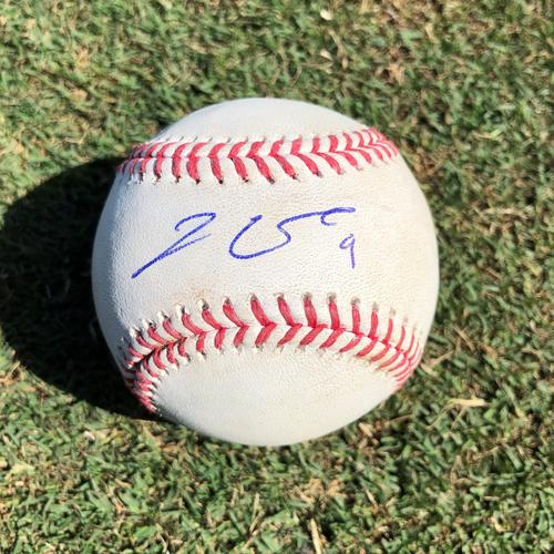 Photo of WSH @ SDP Jake Cronenworth Game-Used Autographed Single Baseball. 138th Career Base Hit. 89th of 2021 Season - 7/5/2021