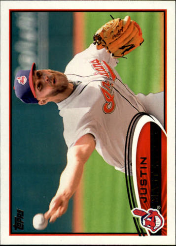Photo of 2012 Topps #205 Justin Masterson