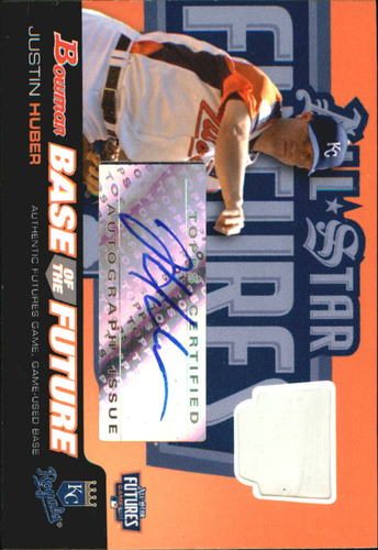 Photo of 2006 Bowman Base of the Future #JH Justin Huber