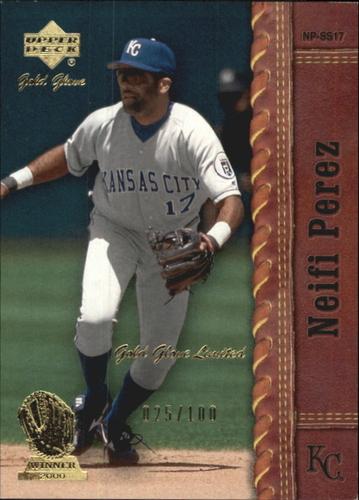 Photo of 2001 Upper Deck Gold Glove Limited #27 Neifi Perez