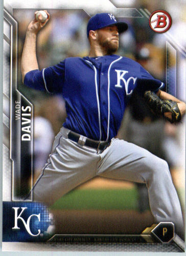 Photo of 2016 Bowman #119 Wade Davis