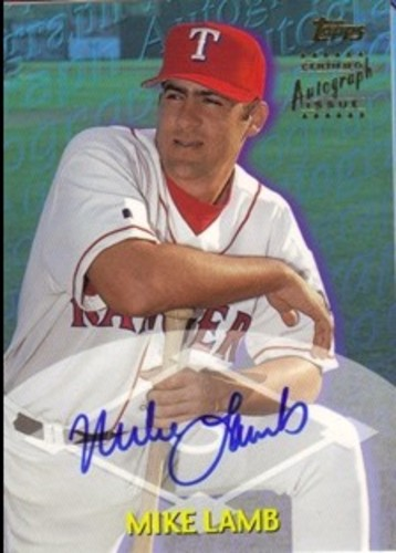 Photo of 2000 Topps Traded Autographs #TTA80 Mike Lamb