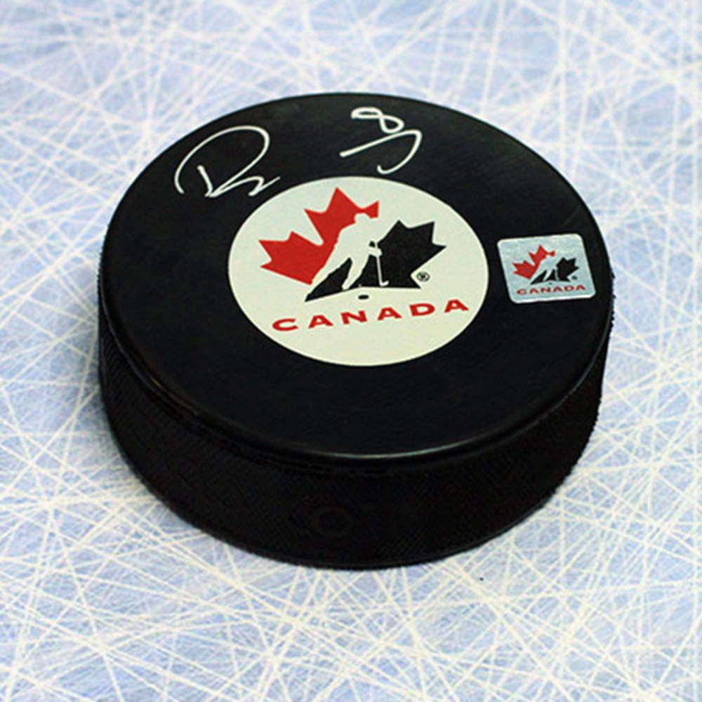 Drew Doughty Team Canada Autographed Olympic Hockey Puck