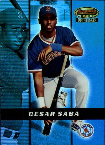 Photo of 2000 Bowman's Best #162 Cesar Saba RC