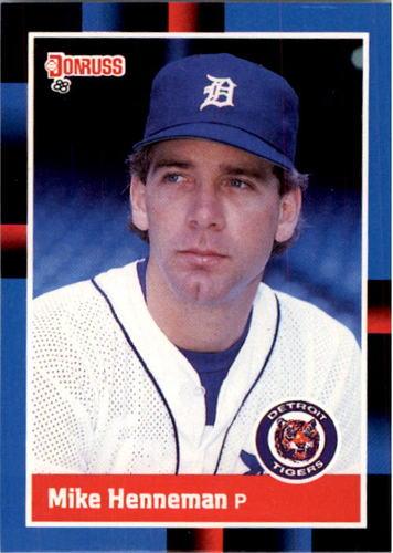Photo of 1988 Donruss #420 Mike Henneman RC*