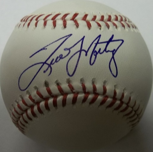 Photo of Tino Martinez Autographed Baseball