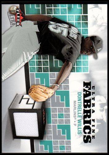 Photo of 2006 Ultra Fine Fabrics #WI Dontrelle Willis Jsy