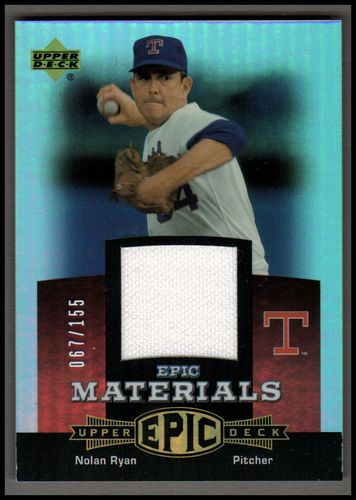 Photo of 2006 Upper Deck Epic Materials Red #NR2 Nolan Ryan Jsy/155