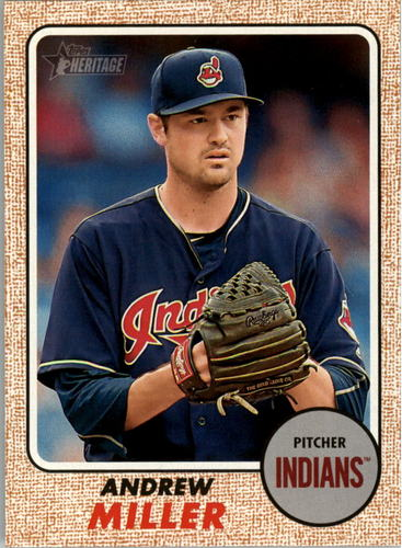 Photo of 2017 Topps Heritage #208 Andrew Miller