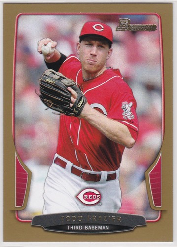 Photo of 2013 Bowman Gold #192 Todd Frazier