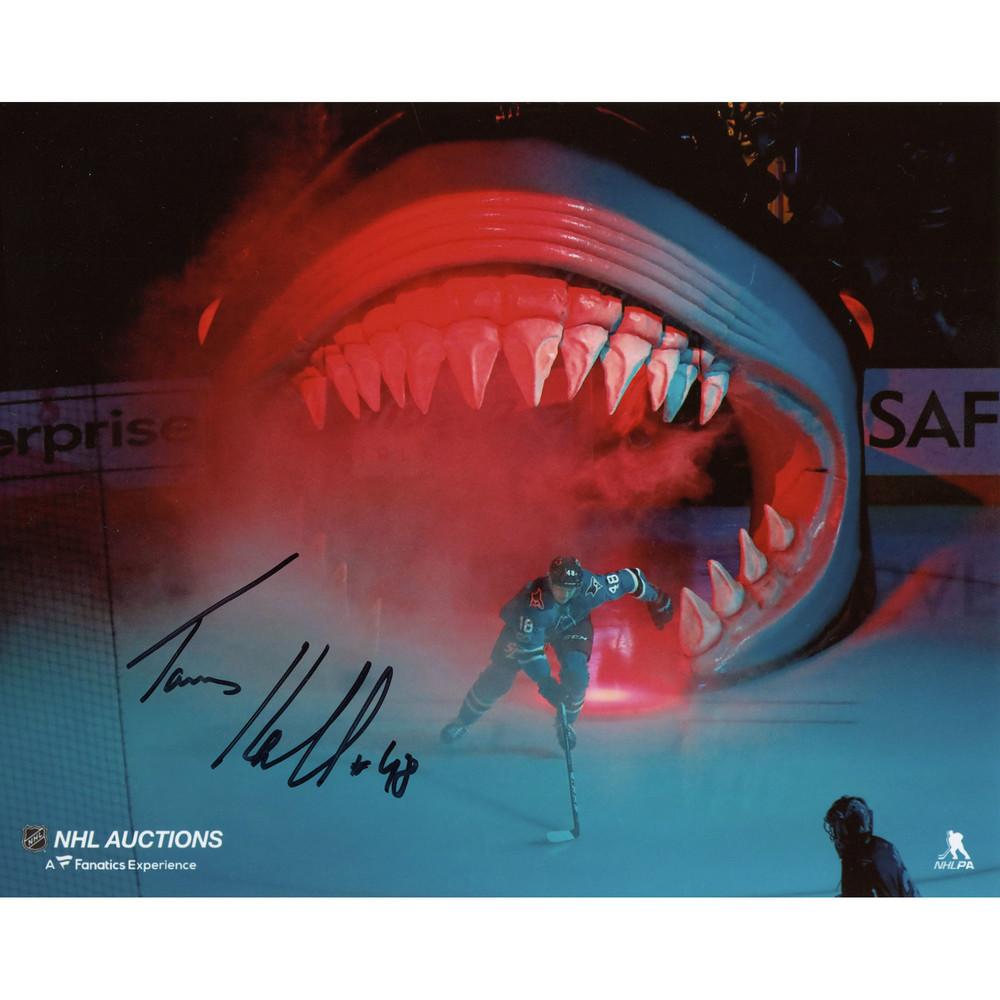 Tomas Hertl San Jose Sharks Autographed 8