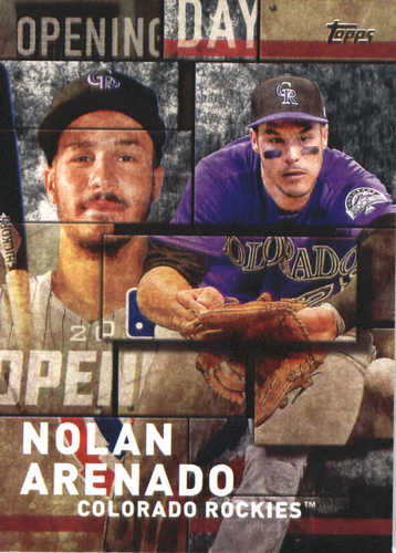 Photo of 2018 Topps Opening Day Insert #OD19 Nolan Arenado