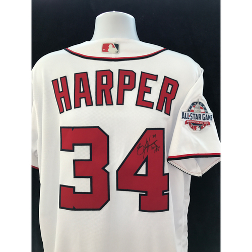 Photo of Mauer & Friends Kids Classic Charity Auction: Bryce Harper Autographed Jersey - Not MLB Authenticated