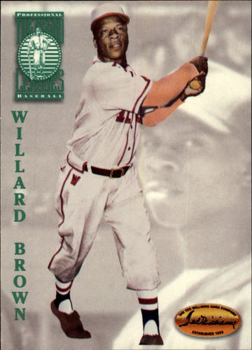 Photo of 1994 Ted Williams #101 Willard Brown Hall of Fame Class of 2006