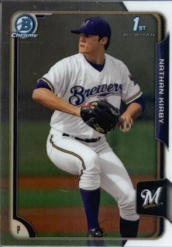 Photo of 2015 Bowman Chrome Draft #145 Nathan Kirby