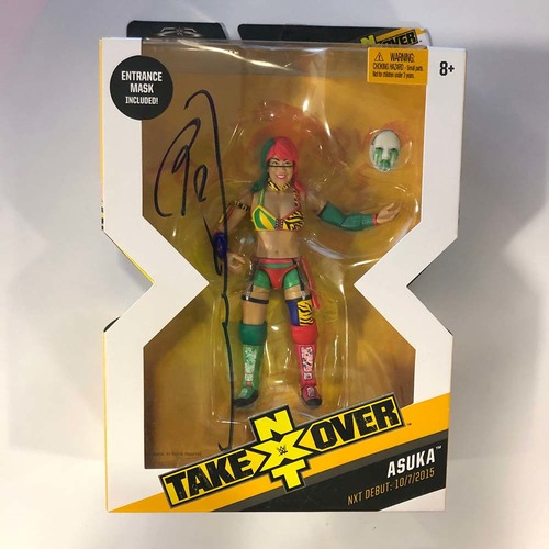 Photo of Asuka Signed Elite Collection Action Figure