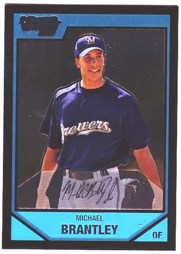 Photo of 2007 Bowman Chrome Prospects #BC15 Michael Brantley
