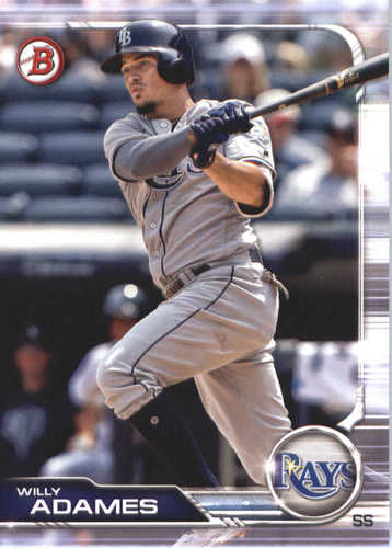 Photo of 2019 Bowman #10 Willy Adames