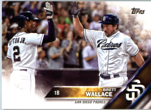 Photo of 2016 Topps #415 Brett Wallace