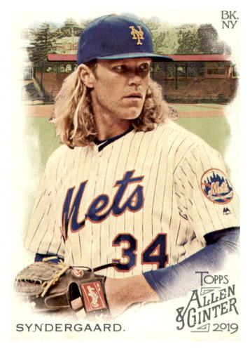 Photo of 2019 Topps Allen and Ginter #44 Noah Syndergaard