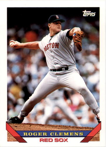 Photo of 1993 Topps #4 Roger Clemens