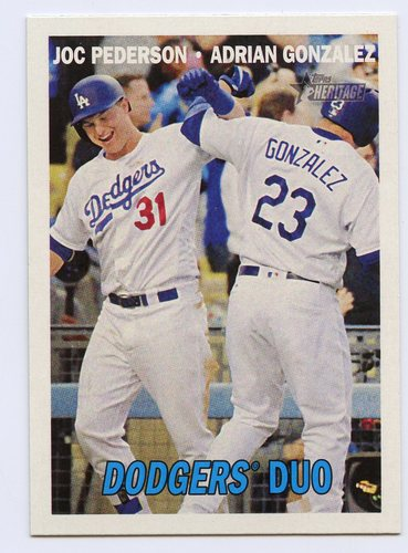 Photo of 2016 Topps Heritage Combo Cards #CC6 Adrian Gonzalez/Joc Pederson
