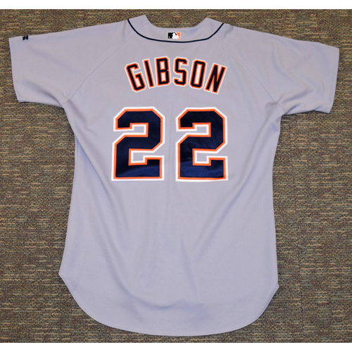 Photo of Kirk Gibson Detroit Tigers #22 Road Jersey (NOT MLB AUTHENTICATED)