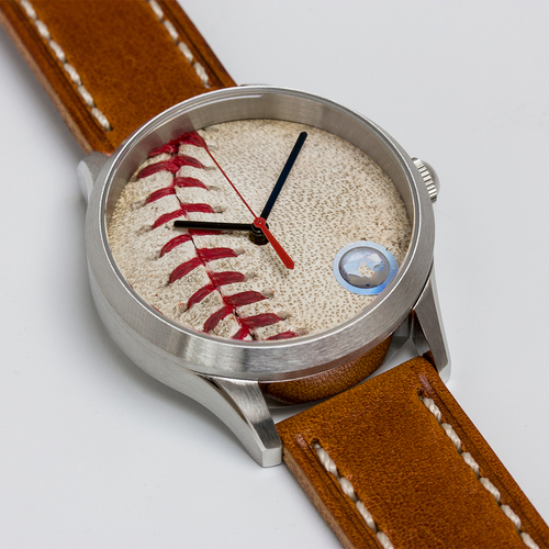 Photo of Tokens & Icons Philadelphia Phillies 2008 World Series Game Used Baseball Watch - Game 2