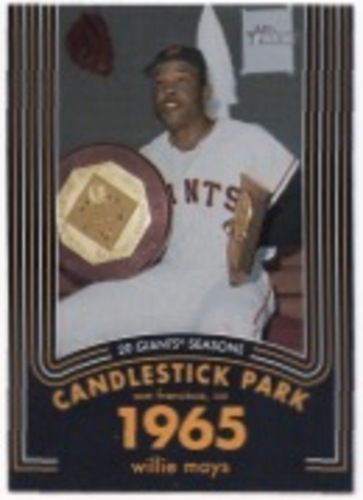 Photo of 2020 Topps Heritage 20 Gigantic Seasons #15 Willie Mays