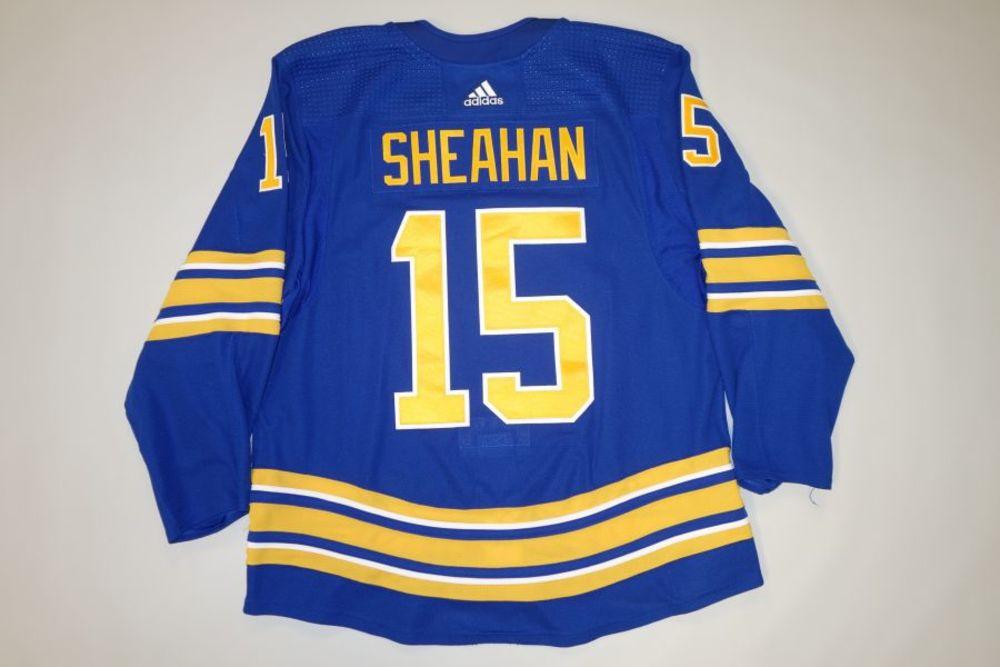 Riley Sheahan 2020-21 Buffalo Sabres Set 2 Home Jersey