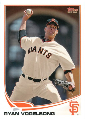 Photo of 2013 Topps #132 Ryan Vogelsong