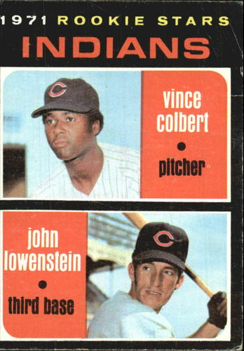 Photo of 1971 Topps #231 Rookie Stars/Vince Colbert RC/John Lowenstein RC