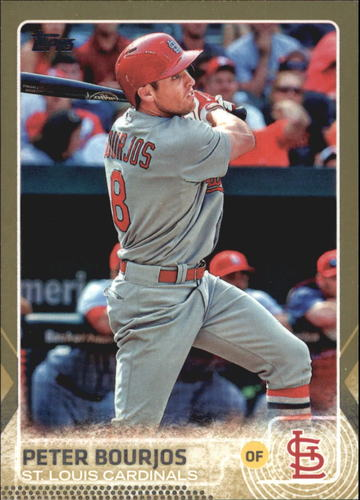 Photo of 2015 Topps Gold #628 Peter Bourjos
