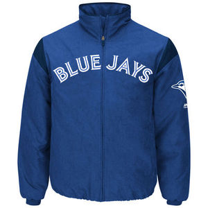 Toronto Blue Jays Men's Authentic Collection Thermal Jacket by Majestic