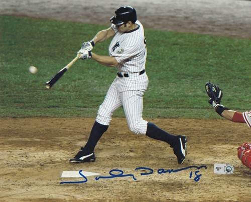 Photo of Johnny Damon Autographed 8x10