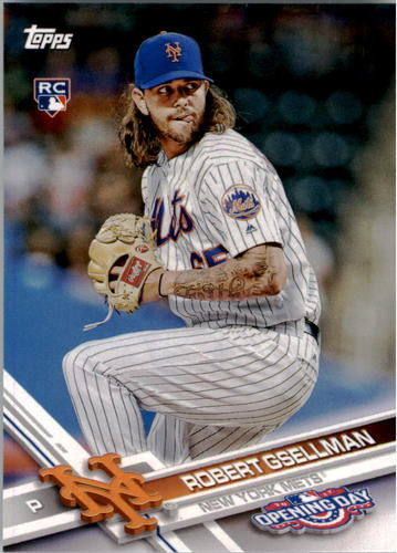Photo of 2017 Topps Opening Day #145 Robert Gsellman RC