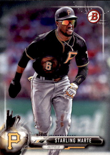 Photo of 2017 Bowman #84 Starling Marte