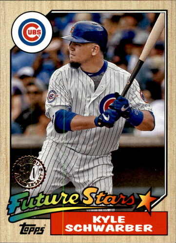 Photo of 2017 Topps '87 Topps #8774 Kyle Schwarber