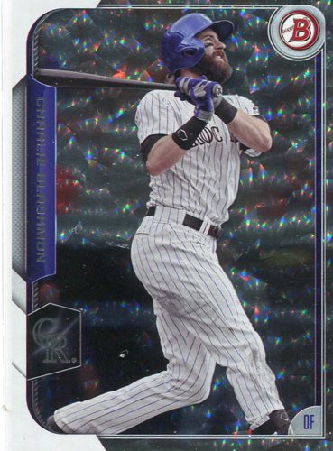 Photo of 2015 Bowman Silver Ice #31 Charlie Blackmon