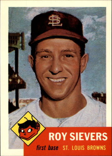 Photo of 1991 Topps Archives 1953 #67 Roy Sievers