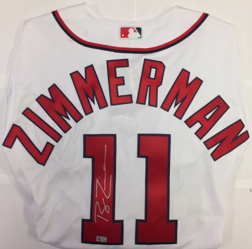 Ryan Zimmerman Autographed Authentic Nationals Jersey