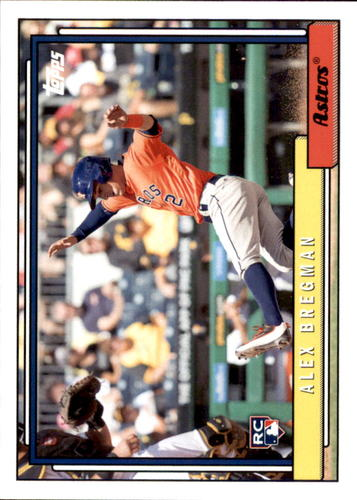 Photo of 2017 Topps Archives #275A Alex Bregman Rookie Card
