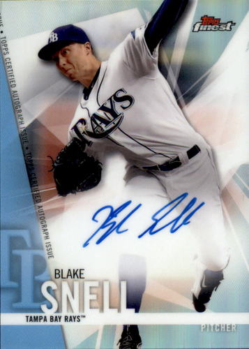 Photo of 2017 Finest Autographs Refractors #FABS Blake Snell