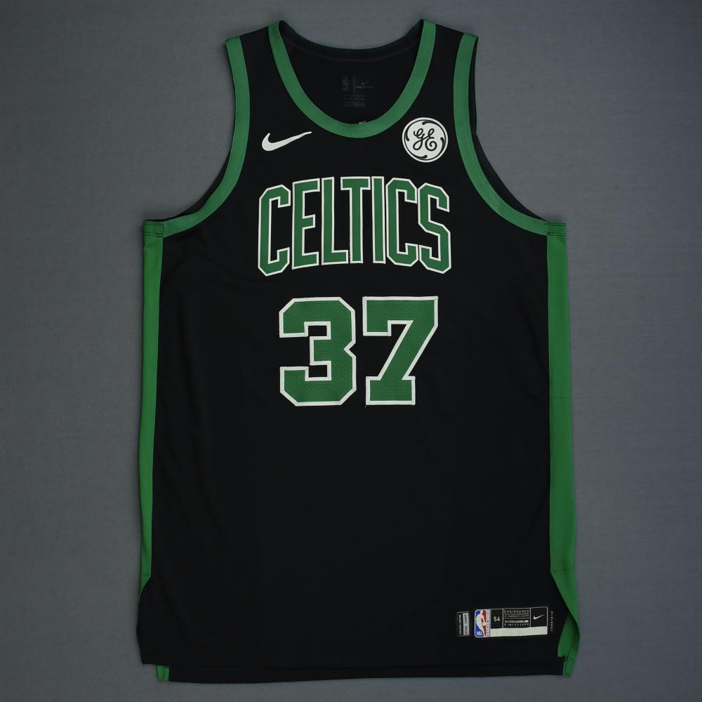 Semi Ojeleye - Boston Celtics - 2019 NBA Playoffs - Game-Issued ...