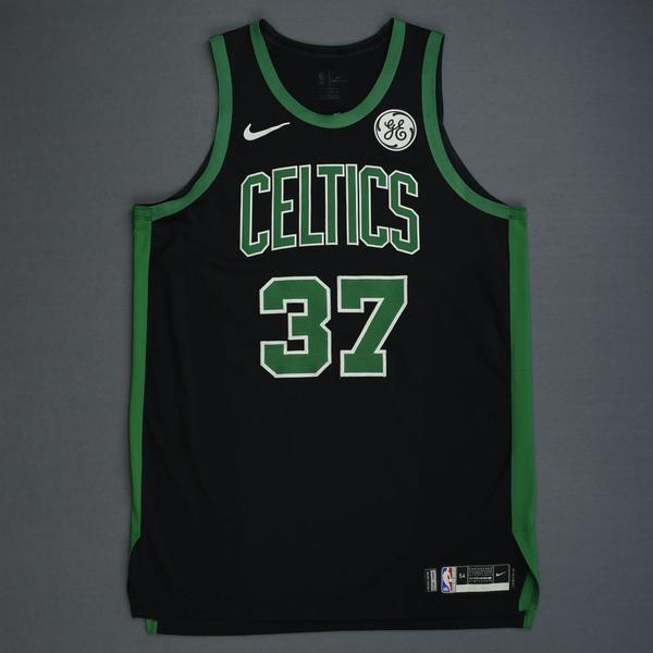 Boston Celtics #37 Semi Ojeleye Association White Swingman Jersey
