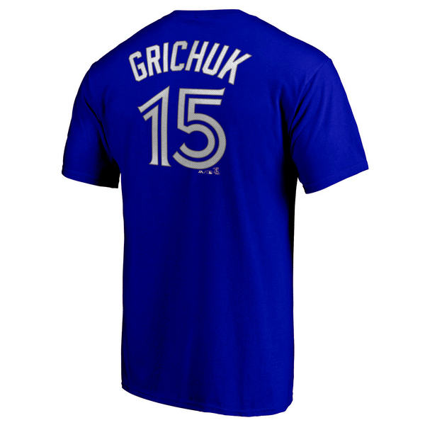 Toronto Blue Jays Randal Grichuk Player T-shirt by Majestic