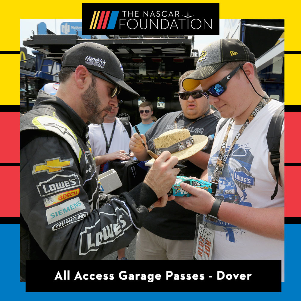 All Access Garage Passes at Dover!